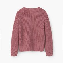 Mango Girls Cotton wool-blend sweater