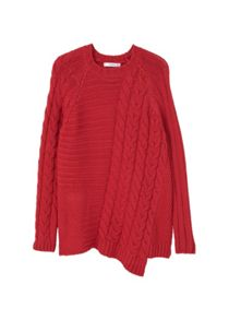 Mango Contrasting knit sweater