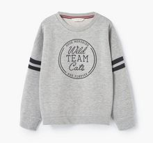Mango Girls Message plush sweatshirt