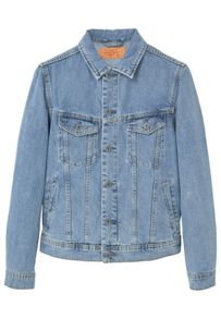 Mango Light wash denim jacket