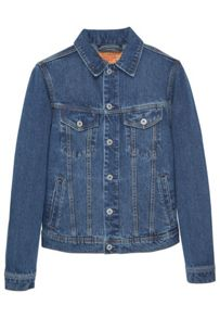 Mango Dark wash denim jacket