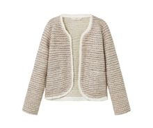 Mango Girls Pocket tweed jacket