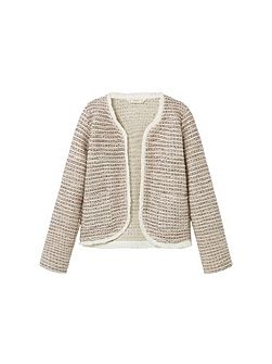Girls Pocket tweed jacket