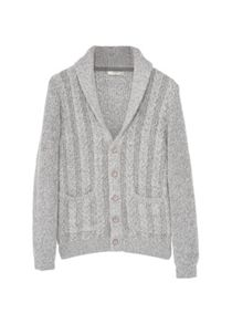 Mango Knitted braided cardigan