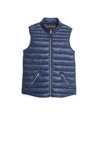 Water-repellent quilted gilet