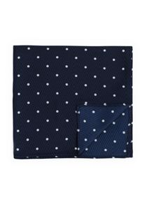 Mango Polka-dot silk pocket square