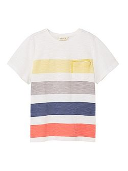 Boys Printed slub-cotton t-shirt