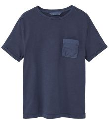 Mango Boys Contrast chest-pocket t-shirt