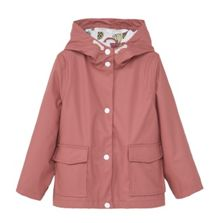 Mango Girls Waterproof hooded jacket