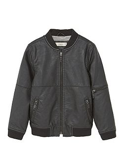 Boys Side-pocket bomber jacket