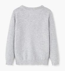 Mango Boys Textured cotton-blend sweater