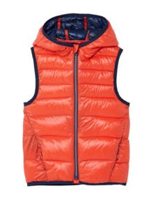 Mango Boys Hooded quilted gilet