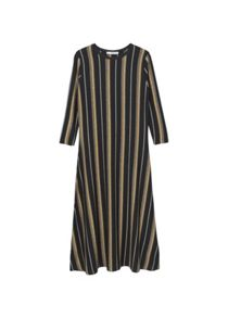 Mango Mixed striped dress
