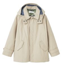 Mango Boys Water-repellent cotton trench