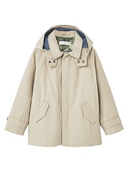 Boys Water-repellent cotton trench