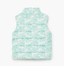 Mango Baby Printed quilted gilet