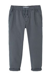 Mango Boys Textured baggy trousers