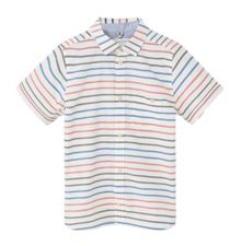 Mango Boys Striped cotton shirt