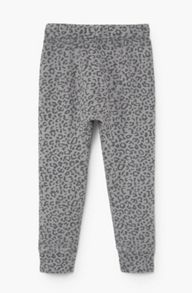 Mango Girls Printed jogging trousers
