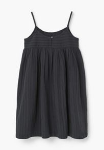 Mango Girls Textured cotton dress
