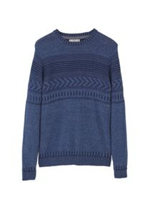 Mango Flecked jacquard sweater