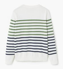 Mango Boys Striped cotton-blend sweater