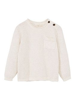 Baby Fine-knit cotton sweater