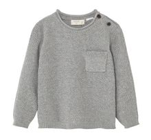 Mango Baby Fine-knit cotton sweater