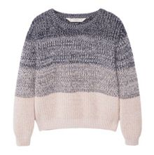 Mango Girls Openwork knit sweater