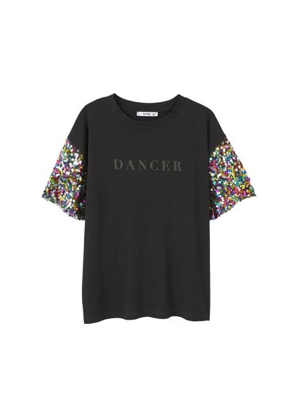 Mango Sequin t-shirt