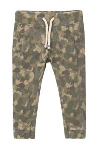 Mango Baby Camo-print jogging trousers