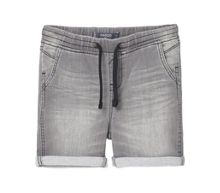 Mango Boys Drawstring Denim Shorts