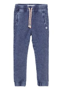 Mango Boys Washed cotton-blend jogging trousers
