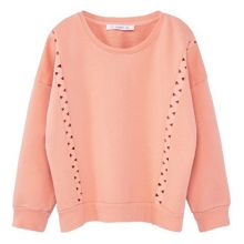 Mango Girls Mixed cotton sweatshirt