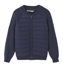 Mango Boys Cotton-blend cardigan