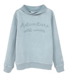 Mango Boys Cowl turtle neck sweatshirt