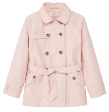 Mango Girls Classic cotton trench coat