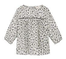 Mango Girls Flower Print Top