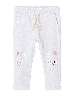 Baby Flecked jogging trousers