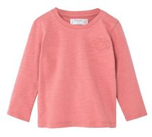 Mango Baby Embroidered detail cotton t-shirt