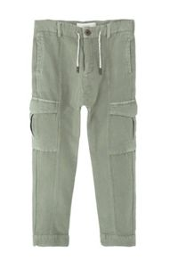 Mango Boys Cotton baggy trousers