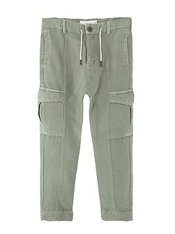 Boys Cotton baggy trousers