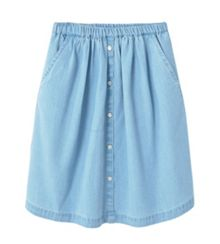 Mango Girls Denim Skirt
