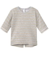Mango Baby Cotton Striped T-Shirt