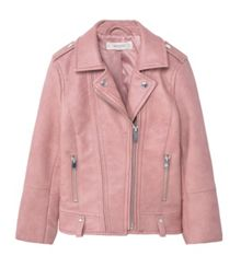 Mango Girls Faux-Leather Jacket