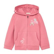 Mango Baby Cartoon Zip-Up Hoody