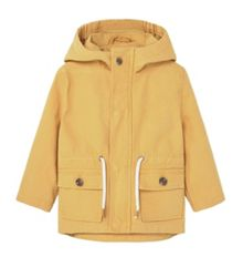 Mango Baby Hooded cotton coat