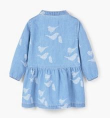 Mango Baby Girls Denim Dress
