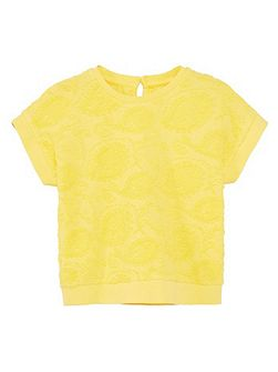 Baby Textured Cotton T-Shirt