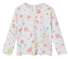 Mango Baby Chest-pocket printed t-shirt